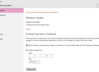 Windows 10 Build 14257