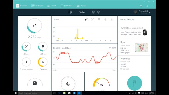 Fitbit For Windows 10 Gets Updated With Dashboard