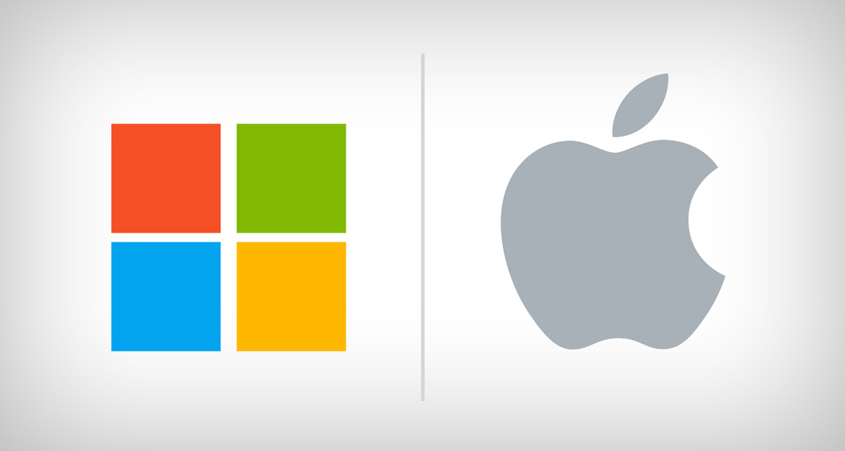 Kết quả hình ảnh cho Microsoft and Apple are fighting to be world's most valuable company