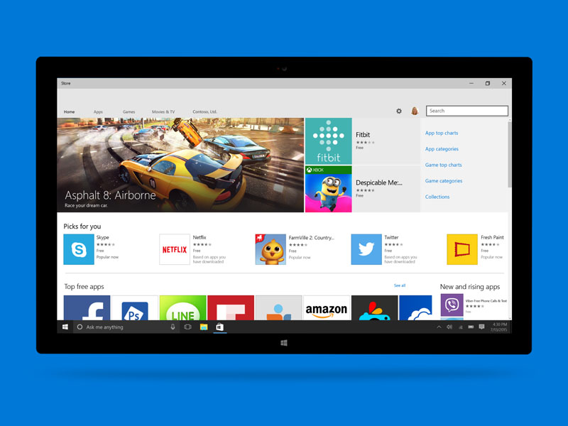 download android apps on windows 10