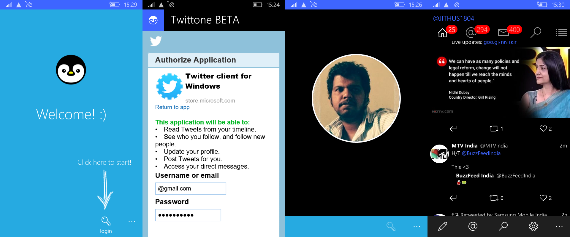 Hands On with Twittone - The fastest #twitter client for