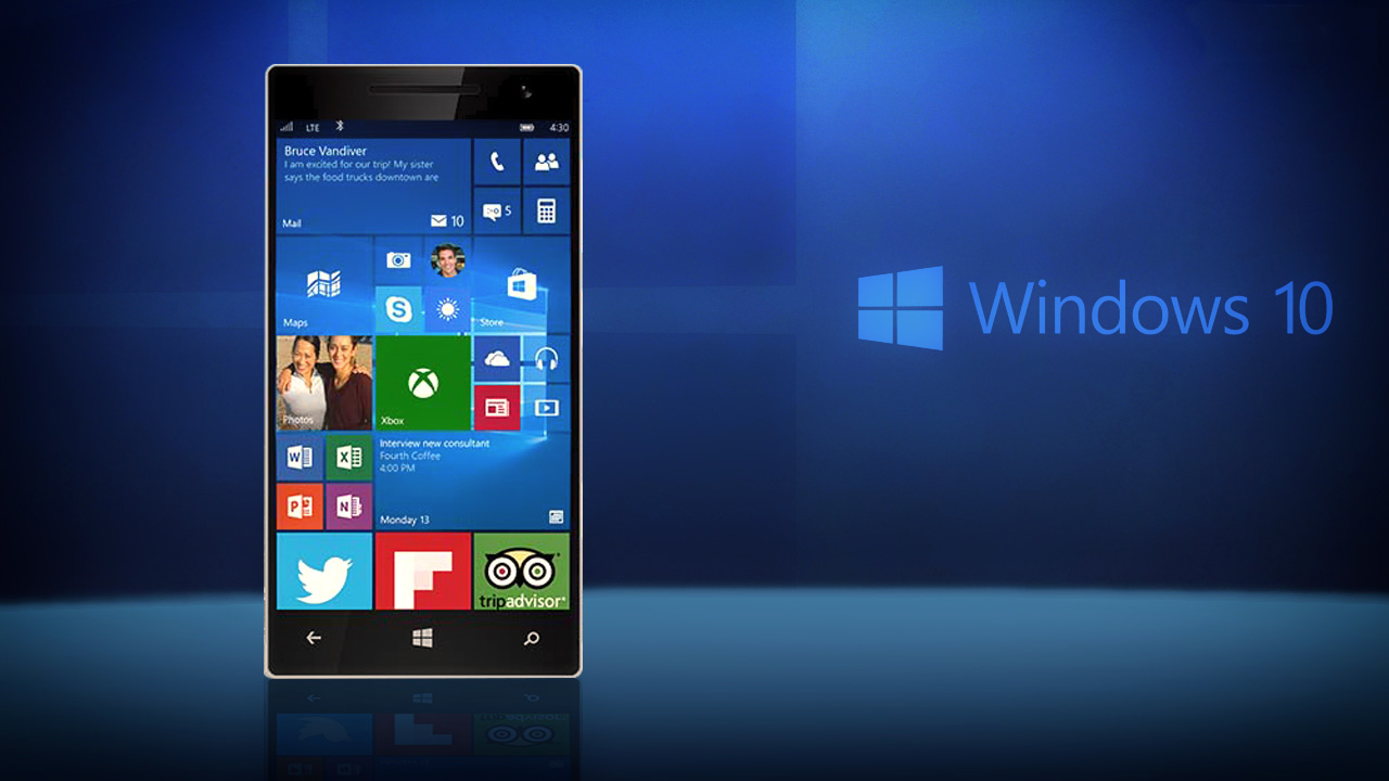 Windows 10 mobile 64 bit os will soon be powering lumia for Ms windows 10