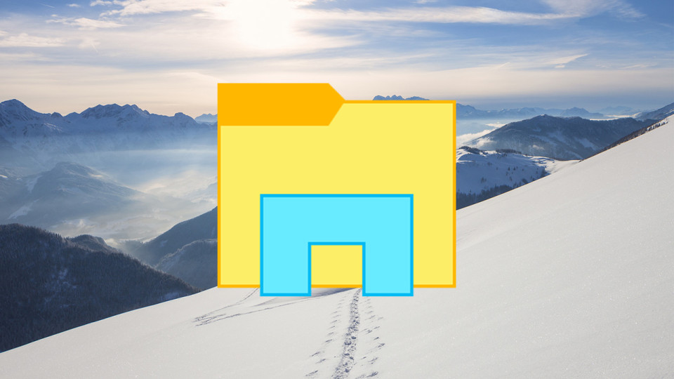 Build 16226 has an updated File Explorer context menu with