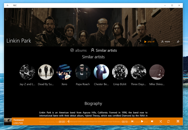 New VLC Beta Version released for Windows 10