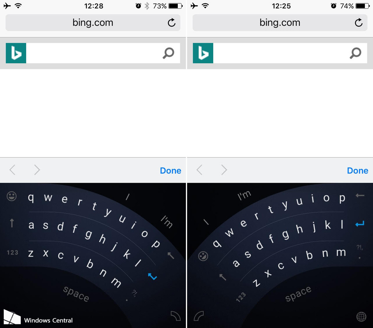 Wordflow keyboard for iOS