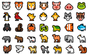 emojis animal