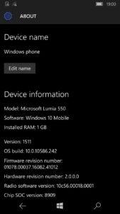 windows 10 mobile build 10586.218 1