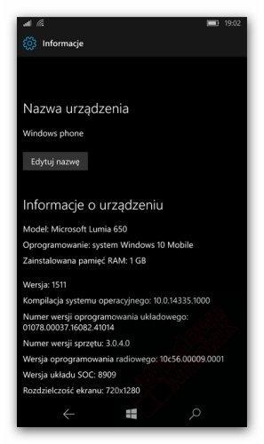Windows 10 Mobile Build 14335