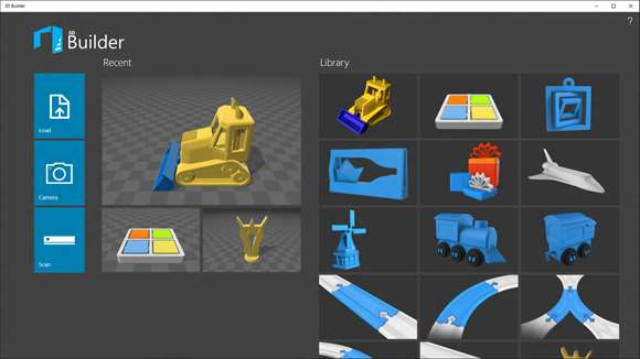 Microsoft 39 S 3d Builder App Brings New Features In Latest