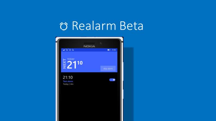 Realarm beta