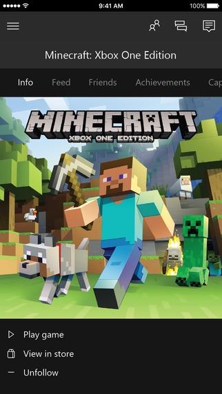 Xbox iOS App
