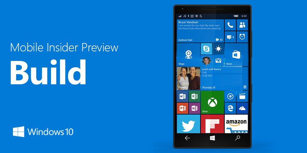 Windows 10 Mobile Insider Preview Build 14356 Released For