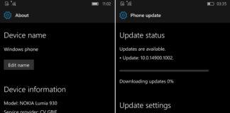 Windows 10 Mobile Build 14900