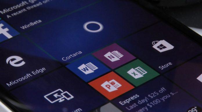 Windows 10 Mobile Office