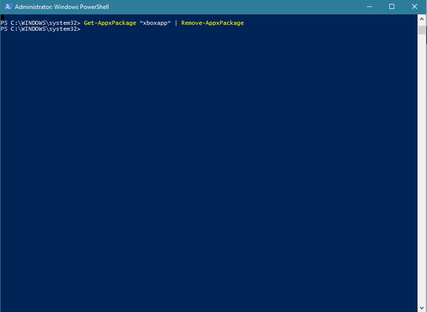xbox-uninstall-powershell