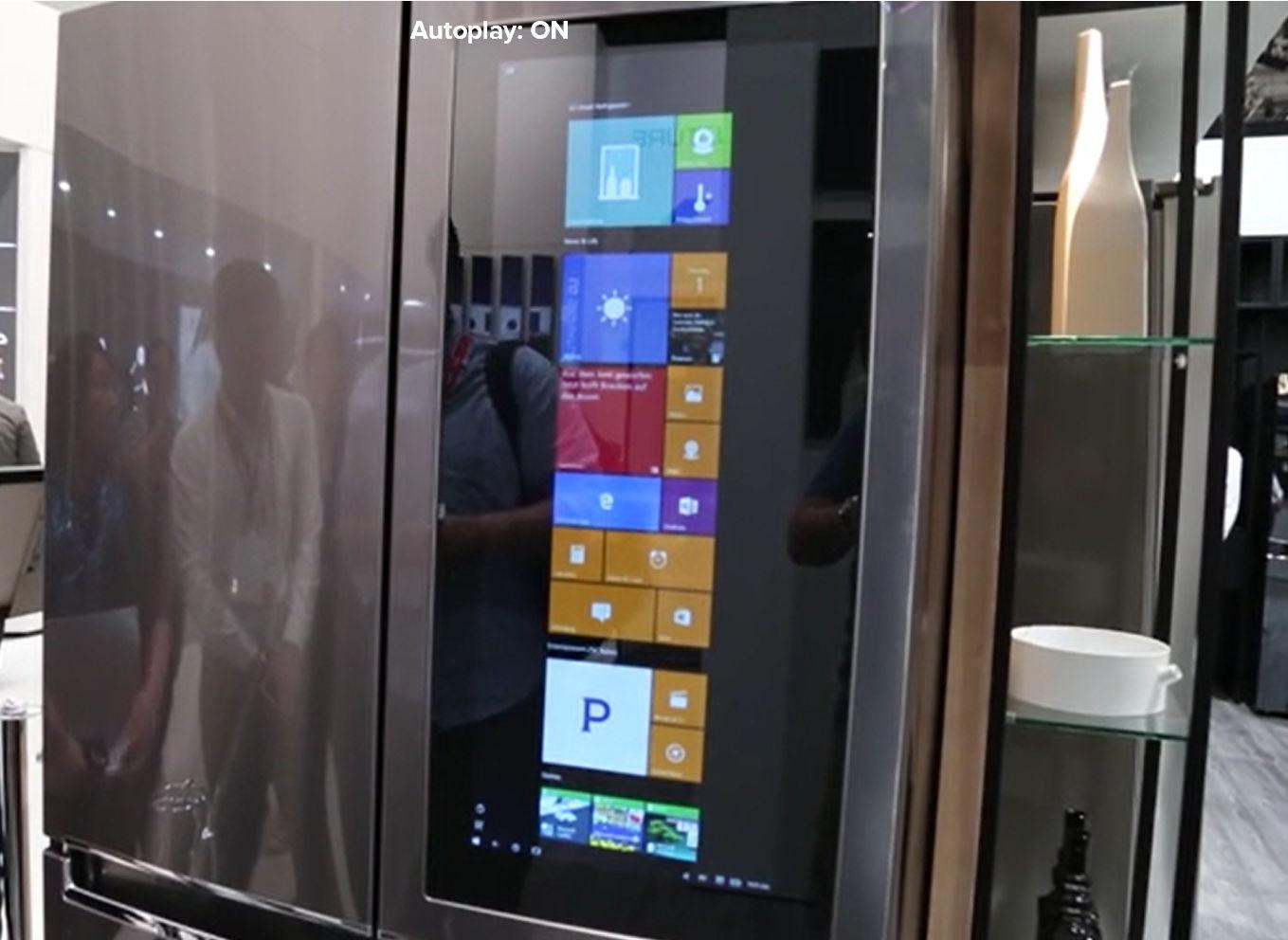 Lg S Windows 10 Powered Smart Instaview Fridge Is Still Around
