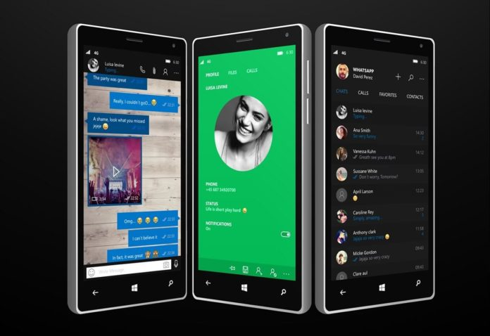 WhatsApp concept for Windows Phone