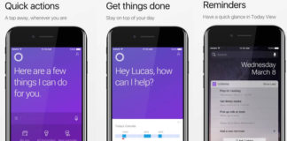 Cortana for iPhone