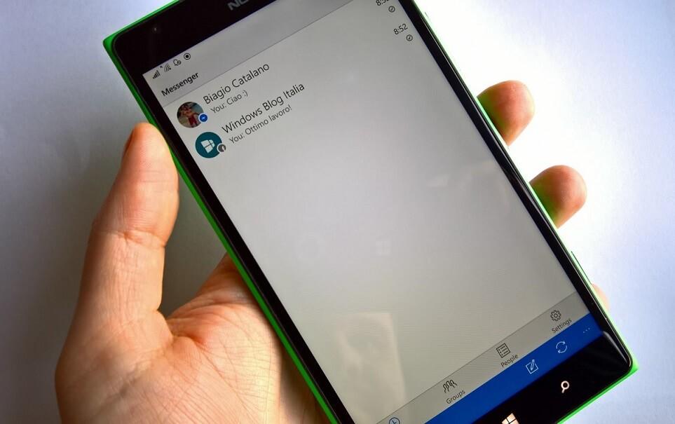 Facebook Messenger for Windows 10 Mobile grabs a major update