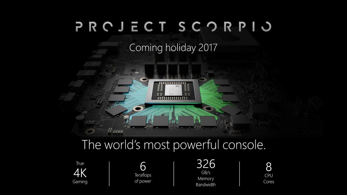 Project Scorpio Specs