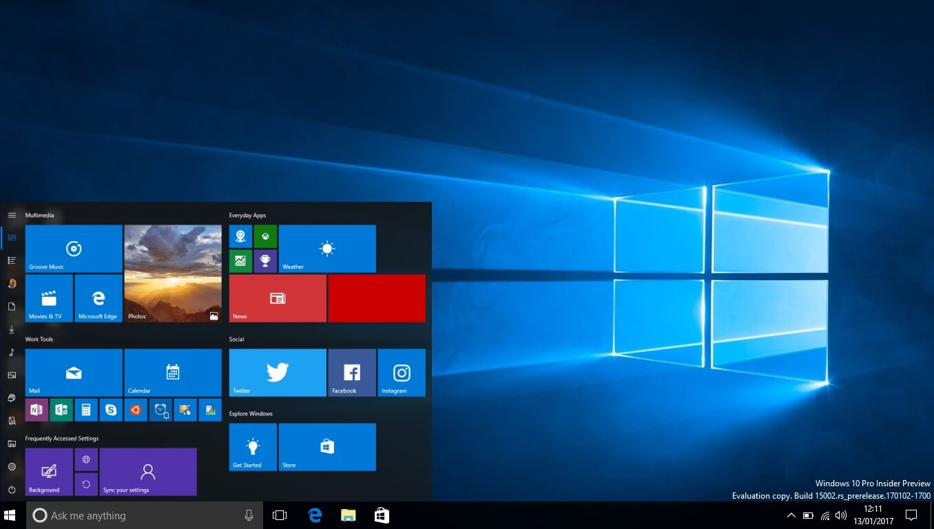 Windows 10 build 16251 is now available for download with for Screen new window