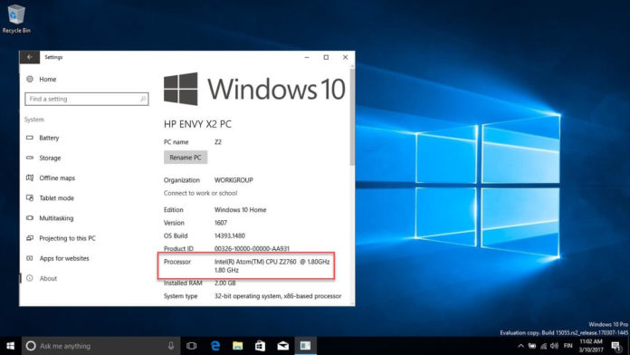 Windows 10 is no longer supported on this PC