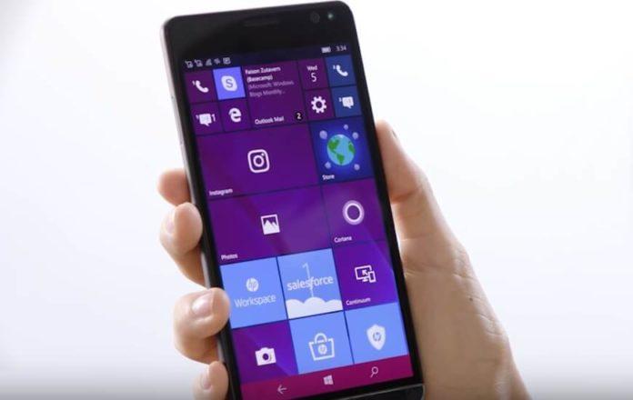 HP Elite x3 with Windows 19