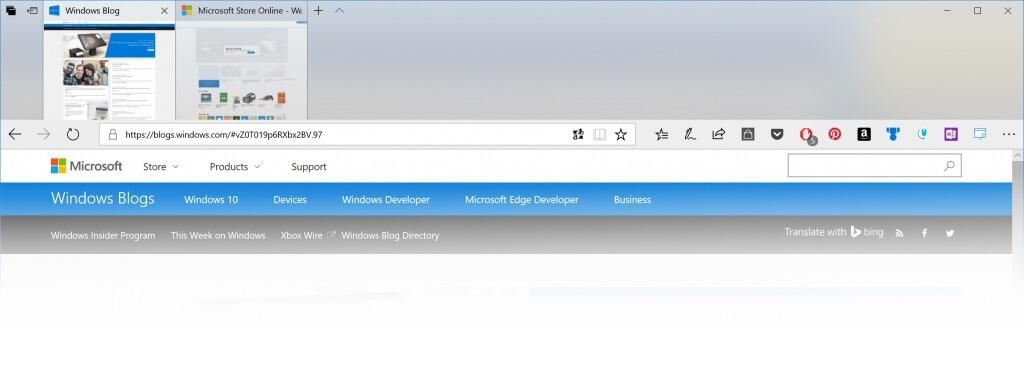 Microsoft Edge Browser Gets Fluent Design In Latest Windows 10 Insider Preview Update