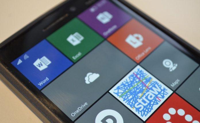OneDrive on Windows 10 Mobile-min