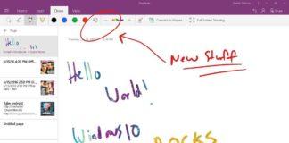 OneNote for Windows 10
