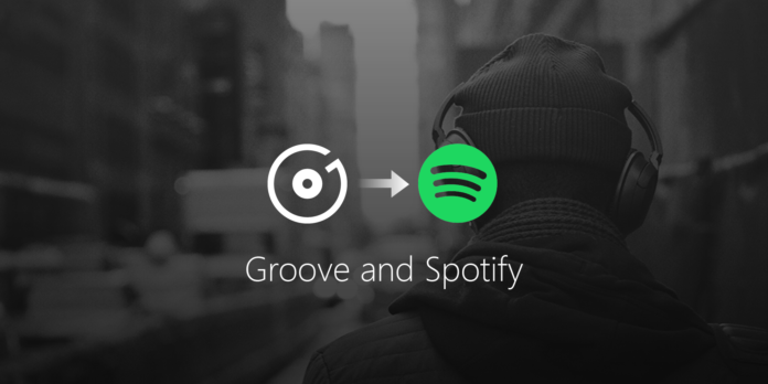 Groove moves Spotify