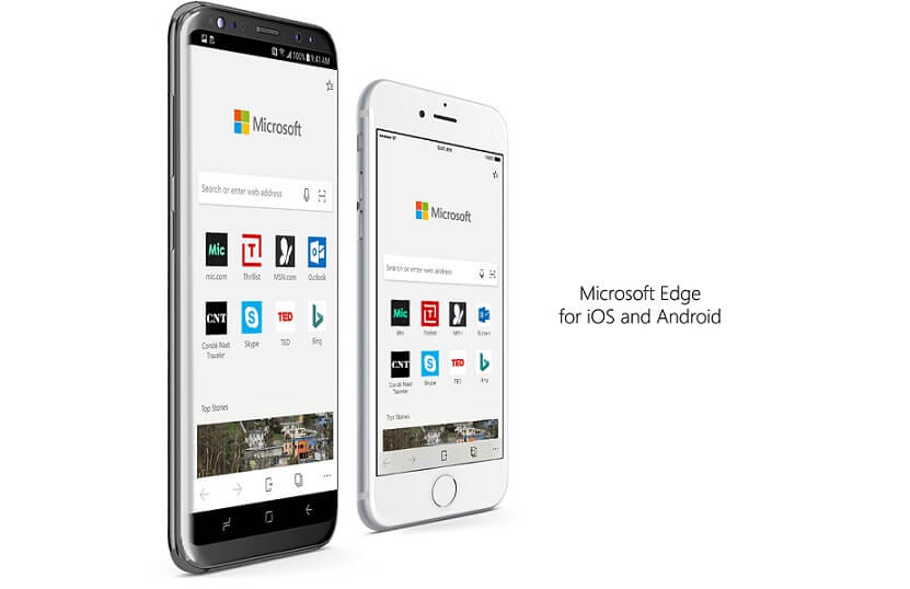 microsoft edge hit top 20 free apps chart on the google