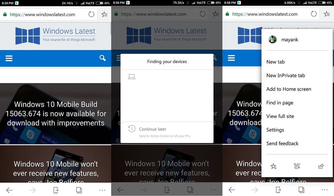 download edge for android