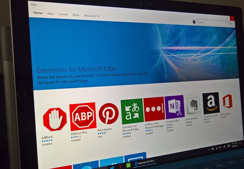 New extension for Microsoft Edge lets you block popup ads