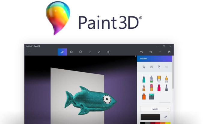 Paint 3D for Windows 10 PC