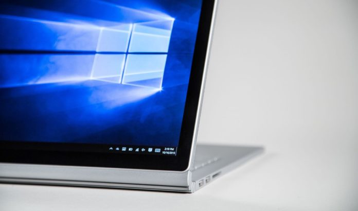 Surface Book Windows 10