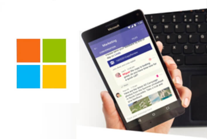 Is this the first Microsoft-branded Android phone?