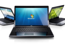 Windows 7 laptop