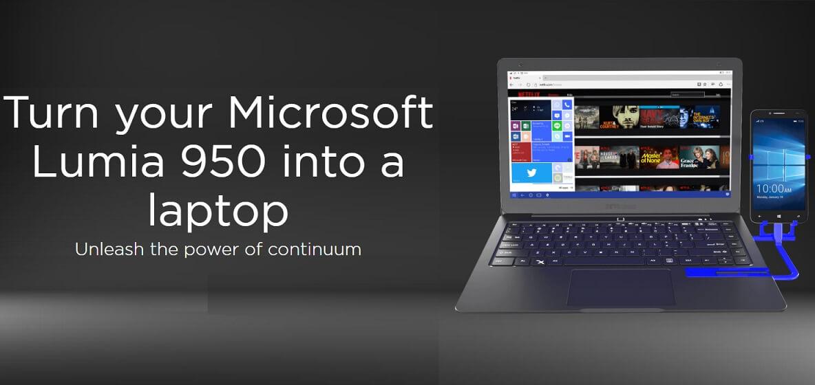 Lumia 950 continuum