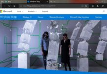 Microsoft Edge UI