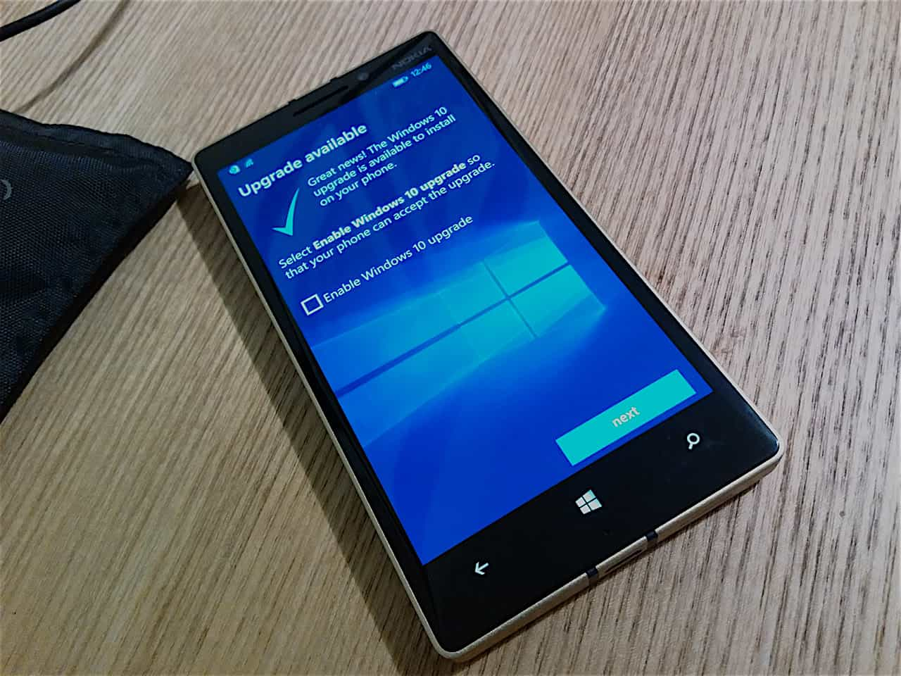 You will be soon able to flash a custom ROM to your Windows