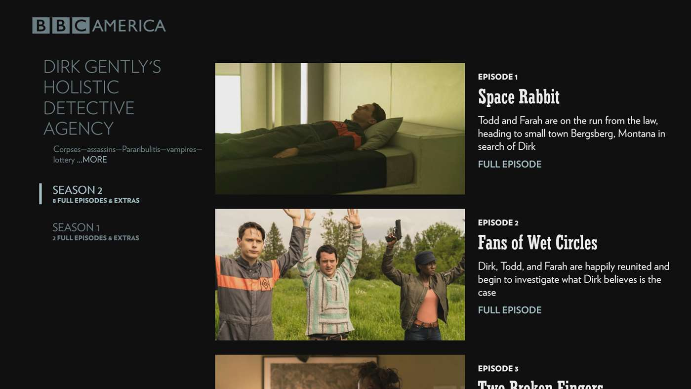 bbc america app now available for xbox one users. Black Bedroom Furniture Sets. Home Design Ideas