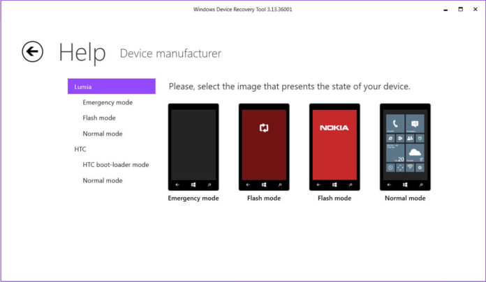 Windows Device Recovery Tool updated with support for HP