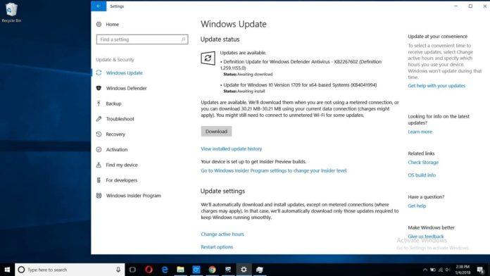 Windows 10 KB4056891