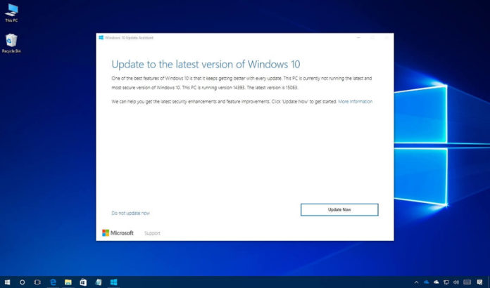 Windows 10 update peformance