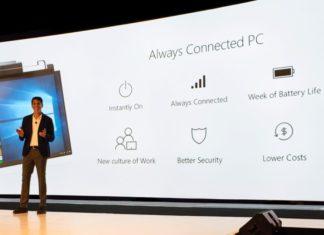 Windows 10 Always Connected PCs