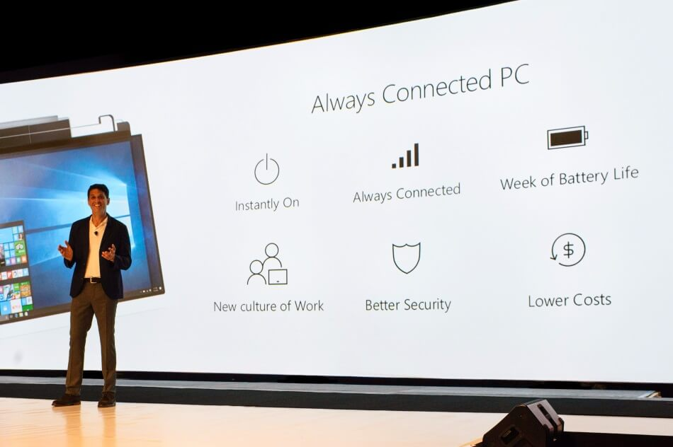 Windows 10 Always Connected PCs