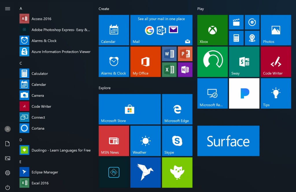 Windows  Professional Vl Build