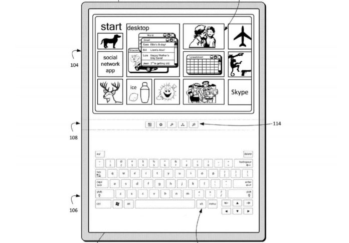 Bendable Windows 10 device