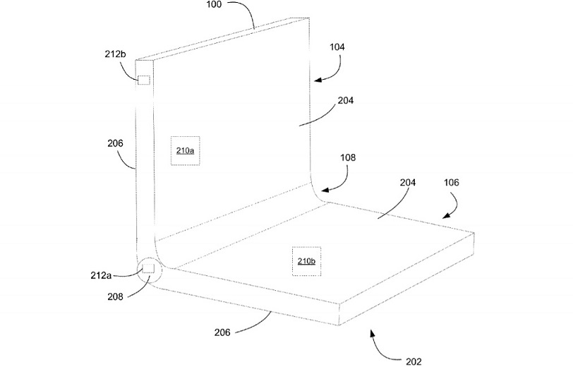 Surface Phone bendable design